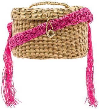 Nannacay Kiki Small Macrame Strap Bag