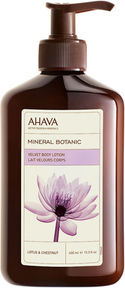Ahava Mineral Botanic Body Lotion - Lotus Flower and Chestnut