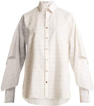 Palmer Harding PALMER/HARDING Checked long-sleeved shirt