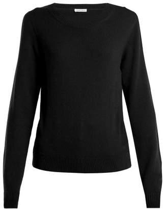 Tomas Maier Round Neck Cashmere Sweater - Womens - Black