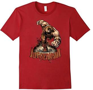 Marvel X-Men The Juggernaut Grunge Smash T-Shirt