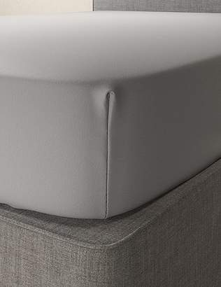 Marks and Spencer Washed Cotton Deep Fitted Sheet