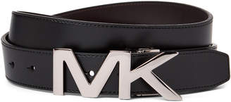 Michael Kors Reversible Leather Logo Belt