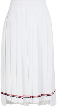 Thom Browne Pleated midi skirt