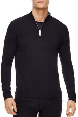 Sandro Half-Zip Wool Sweater