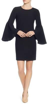 Catherine Malandrino Claudette Bell Sleeve Dress