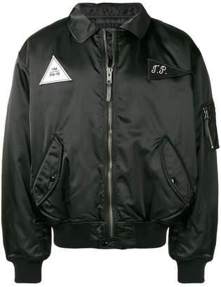 Gosha Rubchinskiy logo bomber jacket