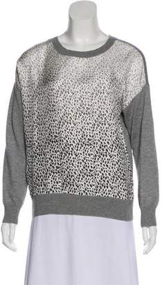 Band Of Outsiders Silk & Cashmere Lightweight Sweater