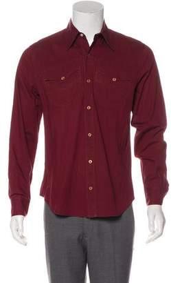 Just Cavalli Woven Button-Up Shirt