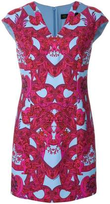 Versace Baroque V-neck dress