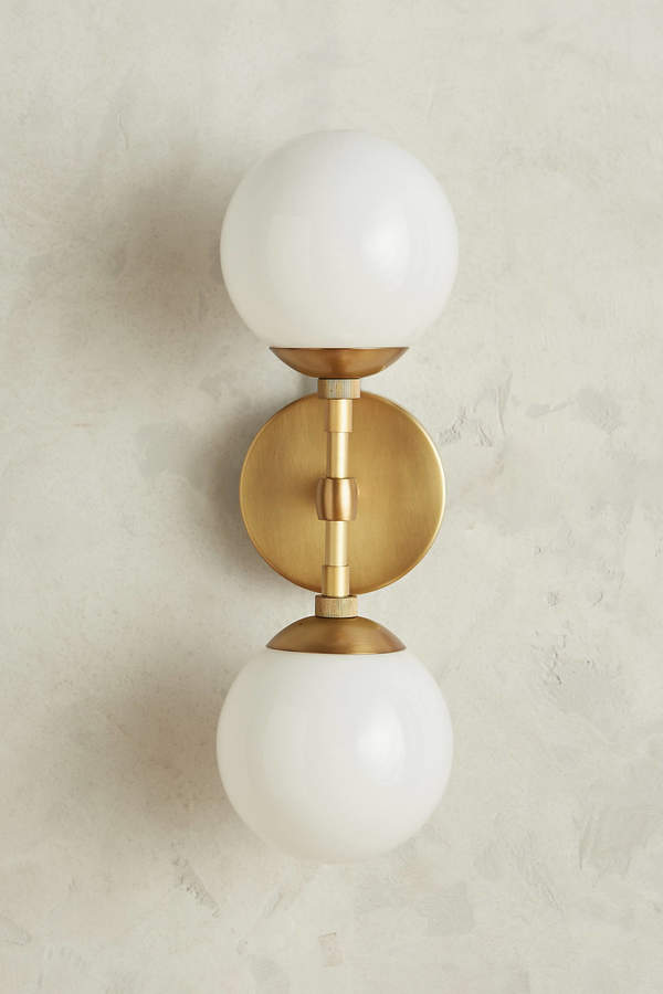 AnthropologieAnthropologie Double Perryman Sconce