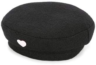 Federica Moretti heart baker boy hat