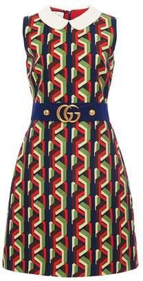 Gucci Web Chain Print Dress