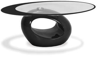 Fab Glass and Mirror Coffee Table Base