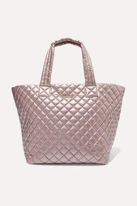 MZ Wallace Metro Medium Metallic Quilted Shell Tote - One size
