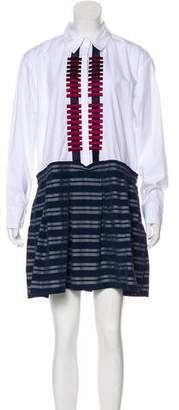 Tanya Taylor Long Sleeve Mini Dress w/ Tags