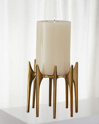 Global Views Aquilo Small Pillar Candle Holder