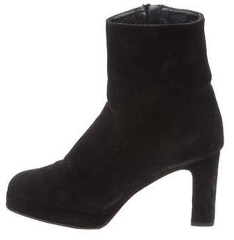Stuart Weitzman Suede Ankle Boots
