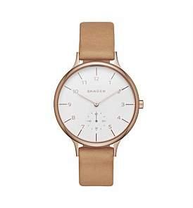 Skagen Anita Leather Watch
