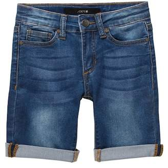 Joe's Jeans Mid Rise Denim Bermuda Shorts (Big Girls)