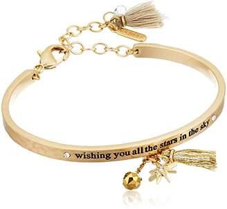 lonna & lilly Tone Motif Cuff Bracelet
