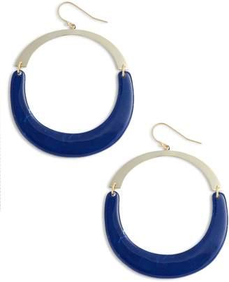 Argentovivo Large Open Drop Earrings