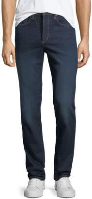 Rag & Bone Men's Standard Issue Fit 3 Loose-Fit Straight-Leg Jeans, Dark Blue
