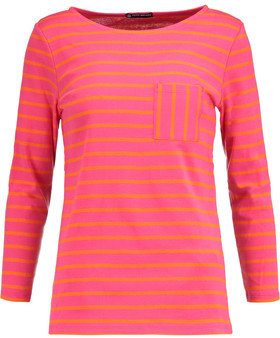 Petit Bateau Striped Cotton-Jersey Top $89 thestylecure.com
