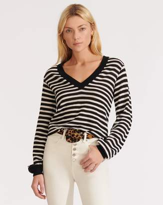 Veronica Beard Sutton V-Neck Pullover
