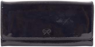 Anya Hindmarch Black Patent leather Wallets
