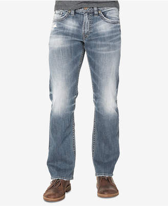 Silver Jeans Co. Men Grayson Big and Tall Easy Fit Jeans