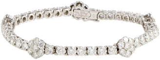 Van Cleef & Arpels Heritage  18K 14.60 Ct. Tw. Diamond Bracelet