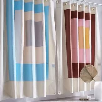 west elm Quiet Town Home Shower Curtain - Marfa