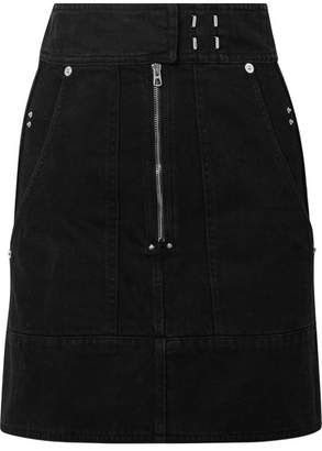 Isabel Marant Natalia Denim Mini Skirt - Black