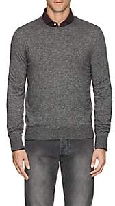 Isaia Men's Cashmere-Silk Sweater - Gray