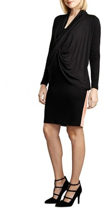 Women's Maternal America Front Drape Nursing Dress $158.40 thestylecure.com
