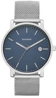 Skagen Analog Hagen Stainless Steel Watch