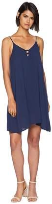 Roxy Full Bloom Woven Tank Dress Women's Dress