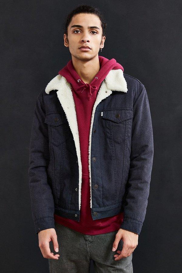Levi's Levi's Flannel Sherpa Trucker Jacket 5