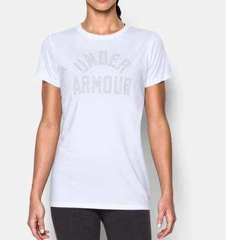 Under Armour Women's UA TechTM Word Mark T-Shirt