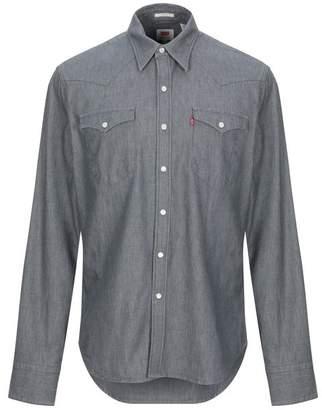 e4ee9cb934a5 Levi's Grey Denim Tops For Men - ShopStyle UK