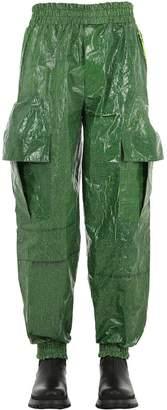Tarp Coated Cotton Cargo Pants