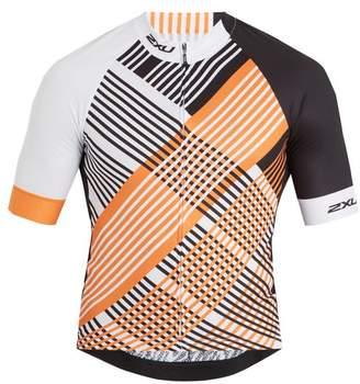 2XU Checked performance cycling top