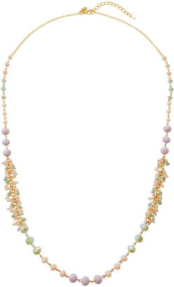 Emily and Ashley Greenbeads By Lavender Single-Strand Necklace w/ Dangles
