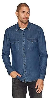 Denim Garage Men's Slim Fit Denim Buttondown 2 Pockets Size M