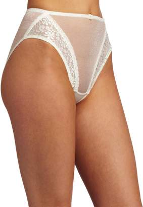 Carnival Womens High Cut Tux Stretch Bikini Panty
