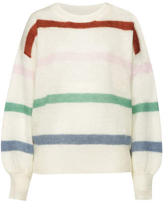 Anine Bing Lydia Pullover with Mohair and Merino Wool