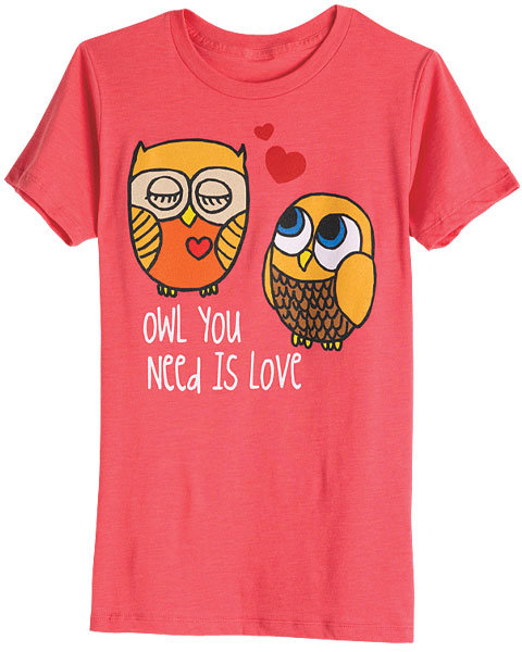 Loyal Army Owl You Need Is Love Tee