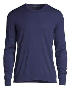 Kiton Wool Crew Sweater