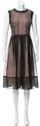 Nha Khanh Sleeveless Midi Dress w/ Tags